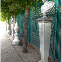 Alley of busts, Sanssouci Palace