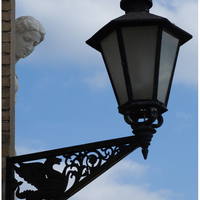 Street light, Orangerie