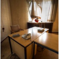 Interrogation office.
