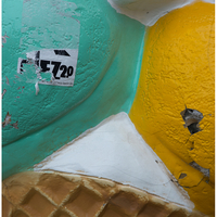 """Fake Ice Cream Cone"", Berlin, 2014"